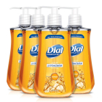 Dial Antibacterial Liquid Hand Soap, Gold, 9.375 Ounce (Count of 4) $3.61 (REG $6.49)