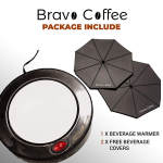 Bravo Line Coffee Mug Warmer with Automatic Shutoff $25.84 (REG $54.88)