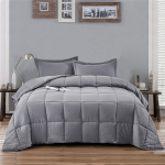 HIG Pre Washed Down Alternative Comforter Set Queen $36.99 (REG $99.99)