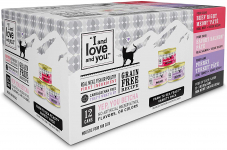 """I and love and you"" Naked Essentials Canned Wet Cat Food $8.11 (REG $15.49)"