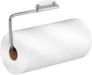 iDesign Forma Wall Mounted Metal Paper Towel Holder, Swiveling Roll Organizer $9.79  (REG $19.99)