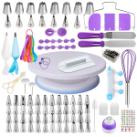 Cake Decorating Supplies Kit for Beginners, Set of 137 $21.99 (REG $59.99)
