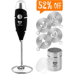 Milk Frother Handheld Coffee Art Set $11.99 (REG $24.99)