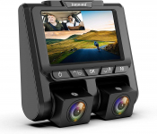 LIMITED TIME DEAL!!! Uber Dual Dash Cam Full HD 1080P+1080P Inside and Outside Car Camera$69.35 (REG $169.99)