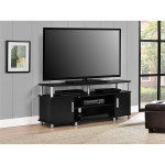 Ameriwood Home Carson TV Stand for TVs up to 50″, Black $48.75 (REG $109.99)