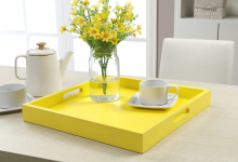 Convenience Concepts Palm Beach Serving Tray, Yellow $26.59 (REG $53.97)