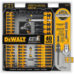 DEWALT DWA2T40IR IMPACT READY FlexTorq Screw Driving Set $17.99 (REG $40.00)