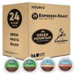 Keurig Espresso Roast Variety Sampler Pack, Single Serve Coffee K-Cup Pod $9.99 (REG $19.99)