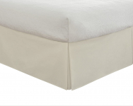 """Lux Hotel Bedding Tailored Bed Skirt, Classic 14"""" Drop Length$9.99 (REG $21.99)"""