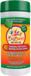 BugBand DEET-Free Insect Repellent Wipes, 40-Count Tub $8.74 (REG $12.95)