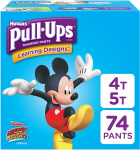 Pull-Ups Learning Designs Potty Training Pants for Boys, 4T-5T (38-50 lb.) $26.83 (REG $32.99)