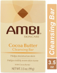 Ambi Skin Care Cleansing Bar – Cocoa Butter – 3.5 Oz  $1.87 (REG $5.99)