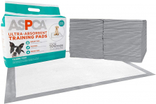 ASPCA Ultra Absorbent Training Pads for Pets, No Leaking, Odor Control $11.05 (REG $17.99)