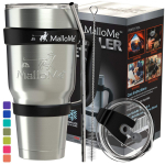 MalloMe Stainless Steel Tumbler 30 oz Insulated Coffee Cup $16.99 (REG $89.99)