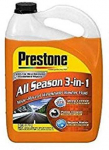 Prestone AS658 Deluxe 3-in-1 Windshield Washer Fluid, 1 Gallon $3.49 (REG $9.99)