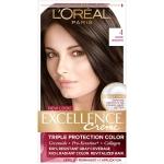 L'Oreal Paris Excellence Creme Permanent Hair Color, 4 Dark Brown $5.33 (REG $8.99)