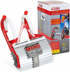 Kidde Two-Story Fire Escape Ladder with Anti-Slip Rungs, 13-Foot $28.78 (REG $67.16)