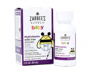 Zarbee's Naturals Baby Multivitamin with Iron, Natural Grape Flavor $4.96 (REG $10.99)