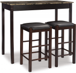 Linon Tavern Collection 3-Piece Table Set $94.75 (REG $157.00)