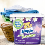 Snuggle Scent Boosters in-Wash Laundry Scent Pacs $6.97 (REG $10.99)