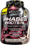 MuscleTech Phase8 Protein Powder,Cookies and Cream, 4.6 Pound $24.49 (REG $43.44)