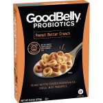 GoodBelly Probiotics Cereal, Peanut Butter Crunch, 9.6 oz $0.25 (REG $5.60)