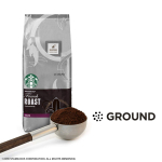 Starbucks French Roast Dark Roast Ground Coffee, 20-Ounce Bag $7.99 (REG $10.45)