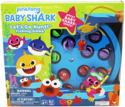 Cardinal Industries Baby Shark Fishing Game with Song, Multicolor (6053381) $10.29 (REG $15.00)
