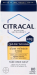 LIMITED TIME DEAL!!! Citracal with Calcium D Slow Release 1200, 80-Count$7.65 (REG $12.99)