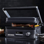 Calphalon Even Sear Indoor Electric Multi-Grill, Dark Stainless Steel $69.95 (REG $199.99)