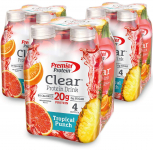 Premier Protein Clear Protein Drink, Tropical Punch, 16.9 fl oz Bottle $15.98 (REG $24.99)