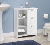 OS Home and Office 25513 Accent Cabinet, White $129.00 (REG $249.00)