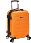 Rockland Luggage Melbourne 20 Inch Expandable Abs Carry On Luggage, $50.40 (REG $120.00)