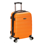 Rockland Luggage Melbourne 20 Inch Expandable Abs Carry On Luggage $42.50 (REG $120.00)