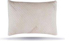 LIMITED TIME DEAL!!! Ultra-Luxury Adjustable Bamboo Shredded Memory Foam Pillow with Zipper $47.99 (REG $149.00)