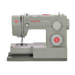 SINGER | Heavy Duty 4452 Sewing Machine with Accessories $130.59 (REG $295.99)