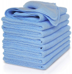 VibraWipe Microfiber Cleaning Cloth, Pack of 8 Pieces (All-Blue) $16.99 (REG $28.90)