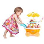 ToyVelt Ice Cream Toy Cart Play Set for Kids $15.97 (REG $34.99)