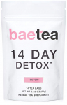 Baetea 14 Day Teatox Detox Herbal Tea Supplement (14 Tea Bags) $17.55 (REG $32.99)