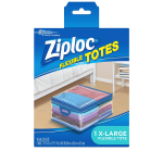 LIMITED TIME DEAL!!! Ziploc Flexible Totes X-Large (Pack of 4) $11.95 (REG $20.97)