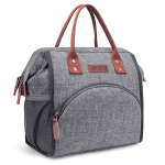 LOKASS Lunch Bag Insulated Lunch Box Wide-Open Lunch Tote Bag $18.99 (REG $39.99)
