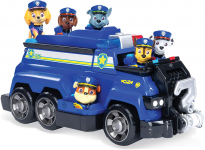 Paw Patrol, Chase's Total Team Rescue Police Cruiser Vehicle with 6 Pups $15.00 (REG $31.49)