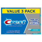 Crest Cavity and Tartar Protection Toothpaste, Whitening Baking Soda & Peroxide – $3.44 (REG$ $6.99)