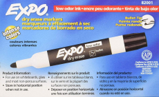 EXPO Low-Odor Bullet Black Dry Erase Whiteboards Markers $11.29 (REG $21.99)