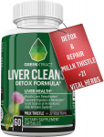 Milk Thistle Extract and 21 Vital Herbs for Liver Detox & Repair $12.99 (REG $25.99)