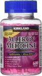 Diphenhydramine HCI 25 Mg – Kirkland Brand – Allergy Medicine Antihistamine $11.79 (REG $19.99)