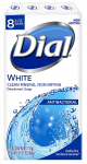 Dial Antibacterial Deodorant Soap, White, 4 Ounce (Pack of 8) Bars $3.99 (REG $9.99)