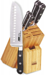 Cooks Standard 6-Piece Stainless Steel Knife Set with Expandable Bamboo Block $46.82 (REG $79.99)