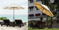Best Price! 9-Foot Outdoor Patio Umbrella Just $47.00 Shipped!