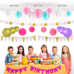 Party Decorations for Girls & Adults $14.99 (REG $39.99)